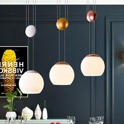 Nowoczesna restauracja żyrandol światła minimalistyczny lampa wisząca LED jadalnia żyrandol dekoracji wnętrz oświetlenie domu Lamparas