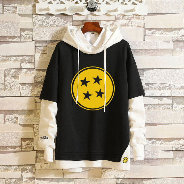 DRAGON BALL STAR PULLOVER HOODIE (9 VARIAN)