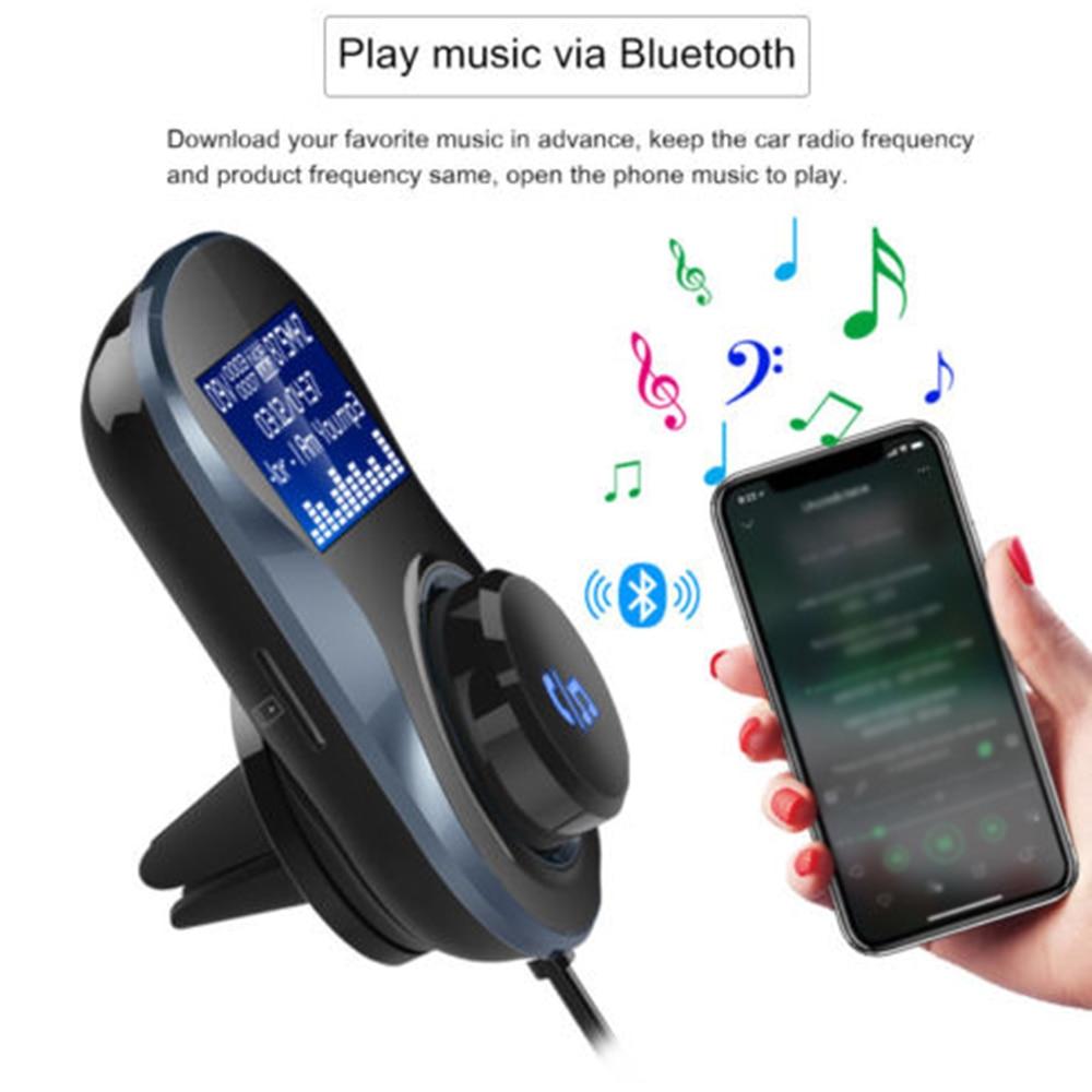 dual usb car auto mp3 audio player wireless adapter. Black Bedroom Furniture Sets. Home Design Ideas