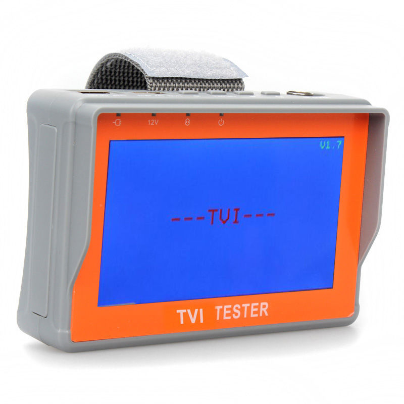 Portable Wrist 4.3 1080P TVI CCTV Camera Cam Video Test Monitor Tester 12V-Out
