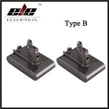 2 PCS Eleoption Replacement Power Tool Battery 22.2V 2.0Ah 2000mah Li-ion Type B for Dyson DC31 / DC34/DC35/DC44 /DC 45