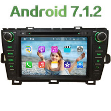 "2GB RAM 8"" Android 7.1 Quad Core 4G SWC BT Wifi Multimedia Car DVD Player Stereo Radio GPS Navi for Toyota Prius RHD 2009-2015"