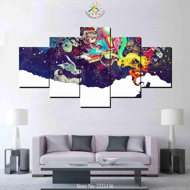 Aliexpress.com : Buy 3 or 5 Pieces Creative Mind Abstract Trippy ...