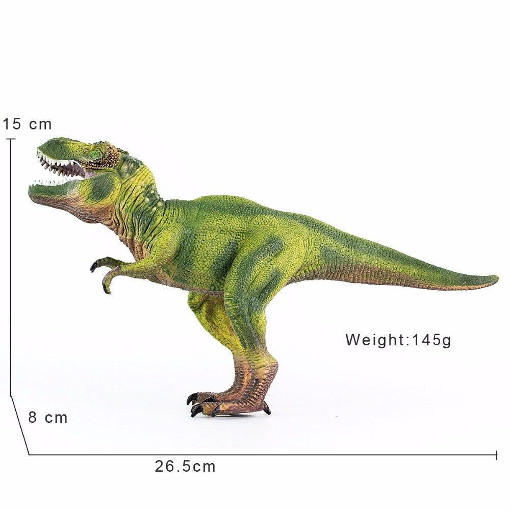Wiben Юрского периода Тиранозавр Рекс T-Rex Dinosaur Игрушечные лошадки животных модель Фигурки героев образования детей игрушка Подарки для мальч...