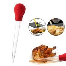 Приготовление курицы, индейки, мяса, барбекю, еды, ароматизатор, Бастер, шприц, трубка, труба 30 мл, торт, украшение, помадка, аксессуары