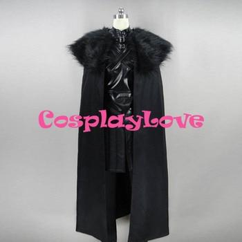 Game of Thrones Jon Snow Cosplay Costume Custom Made Women Man CosplayLove For Christmas Halloween