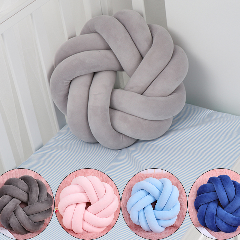 New Nordic Knot Bow Cushion For Home Decoration  Knot Cushion Knot Nursery Decor Scandinavian Home Decor Nordic Kids Room Decor