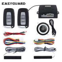 EASYGUARD keyless entry system start stop pke auto alarm system start stop taste auto zentralen lock auto alarm fernbedienung motor starten