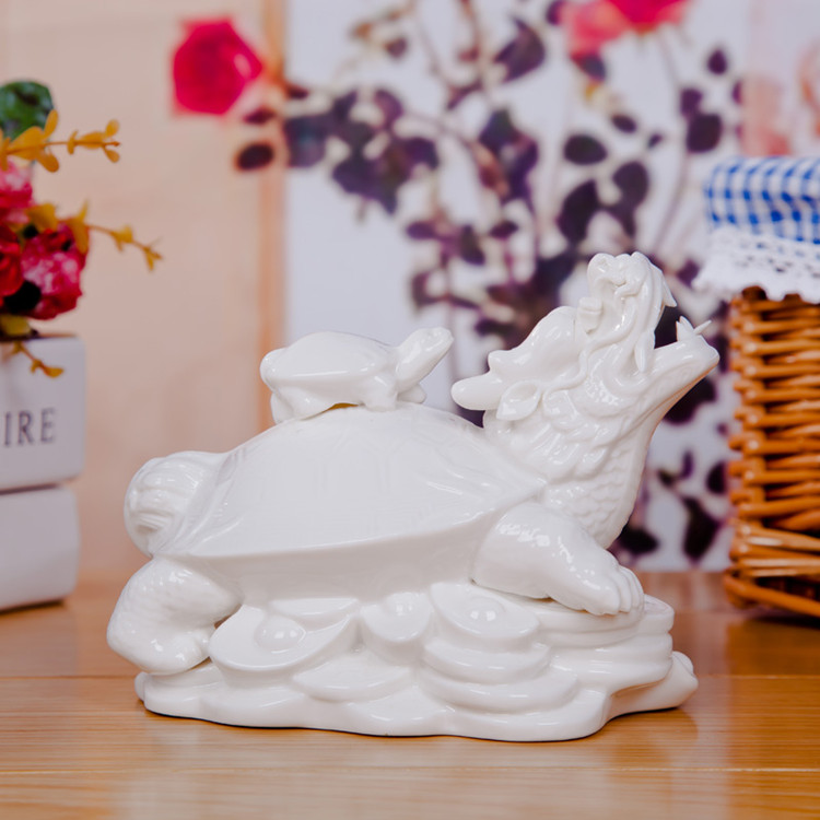Ceramic ortoise sea turtle home home decor crafts room Handicraft things for home decoration