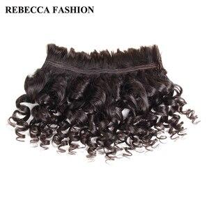 Rebecca remy brasileiro onda solta em massa cabelo humano para trança 1/3/4 pacote frete grátis 10 a 30 Polegada sem trama extensões de cabelo