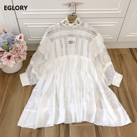 Sweet Cute Women Top Quality Dress Princess Party Clothing Vestidos Ladies Sexy Hollow Out Backless Casual
