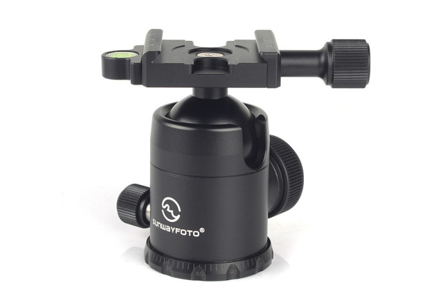 SUNWAYFOTO Updated New Version 36mm Arca Swiss Head Tripod Head Ballhead for RRS Manfrotto Kirk Wimberley Tripod FB-36II