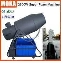 1 Pcs/lot big foam machine 2500W party milk foam machine soap spray blaster foam maker machine for dj party stage effect