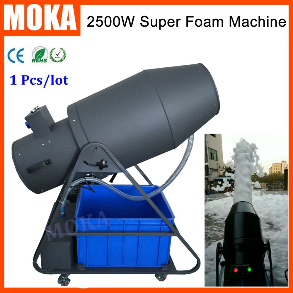 1 Pcs/lot big foam machine 2500W party milk foam machine soap spray blaster foam maker machine for dj party stage effect цены онлайн
