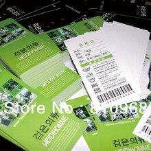 Печать навесных этикеток, тегов автомобилей, визиток, визиток(MOQ: 200 шт