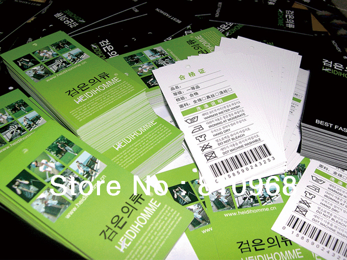 printing hang tags tag cars business cards name cards moq 200pcs - Name Card Printing
