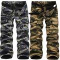 Ao ar livre Tático Militar Camuflagem Calças Da Carga Dos Homens Calças Dos Homens Do Exército de Inverno do Velo Térmica Quente Calças Largas 101405