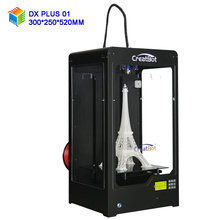 DX Plus 300*250*520 mm 3d printer dual head high quality creatbot China large format kickstarter project industrial printing