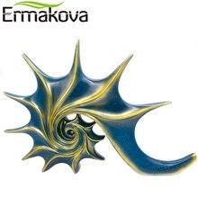 "ERMAKOVA 43cm(16.9"")Height Conch Statue Sea Snail Anima"