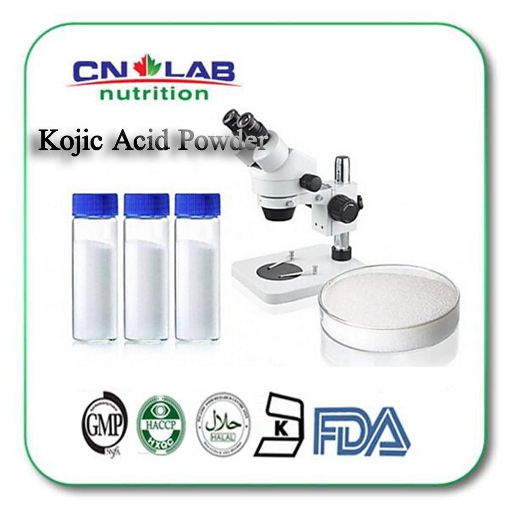 Japanese level Cosmetic Raw Material skin whitening original kojic acid 99% Kojic Acid CAS:501-30-4 150g cosmetic grade kojic acid powder skin whitening material