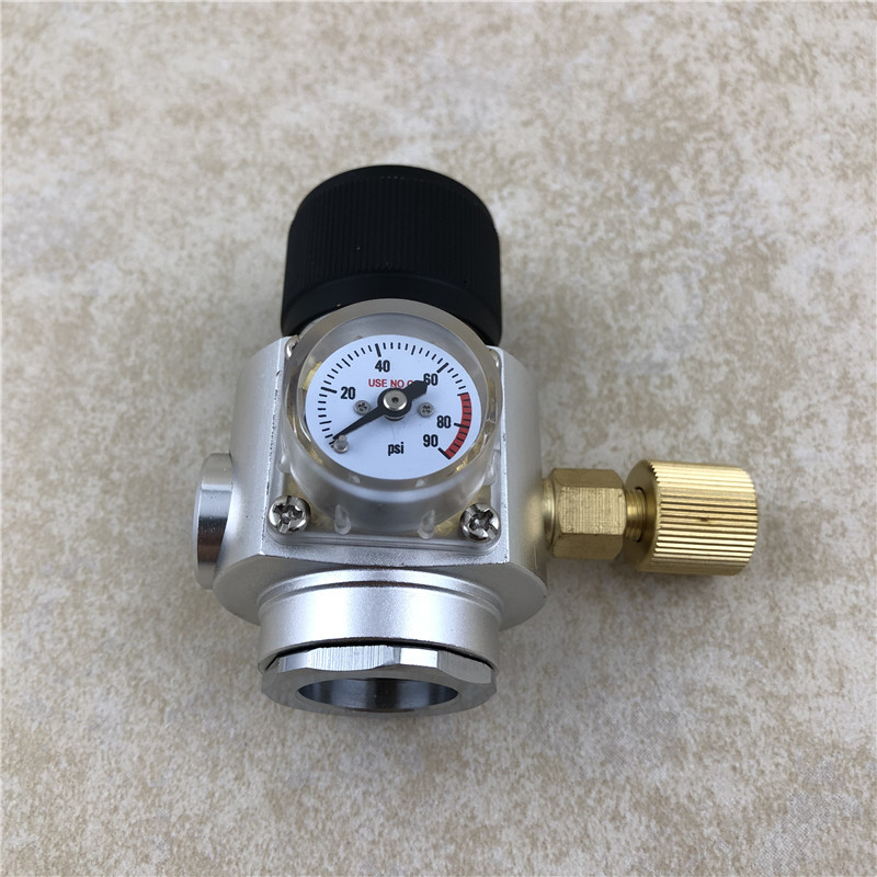 Beer Keg Mini Regulator Portable CO2 keg Charger Kit 0 90 PSI for Beer Brewing Keg in Other Bar Accessories from Home Garden