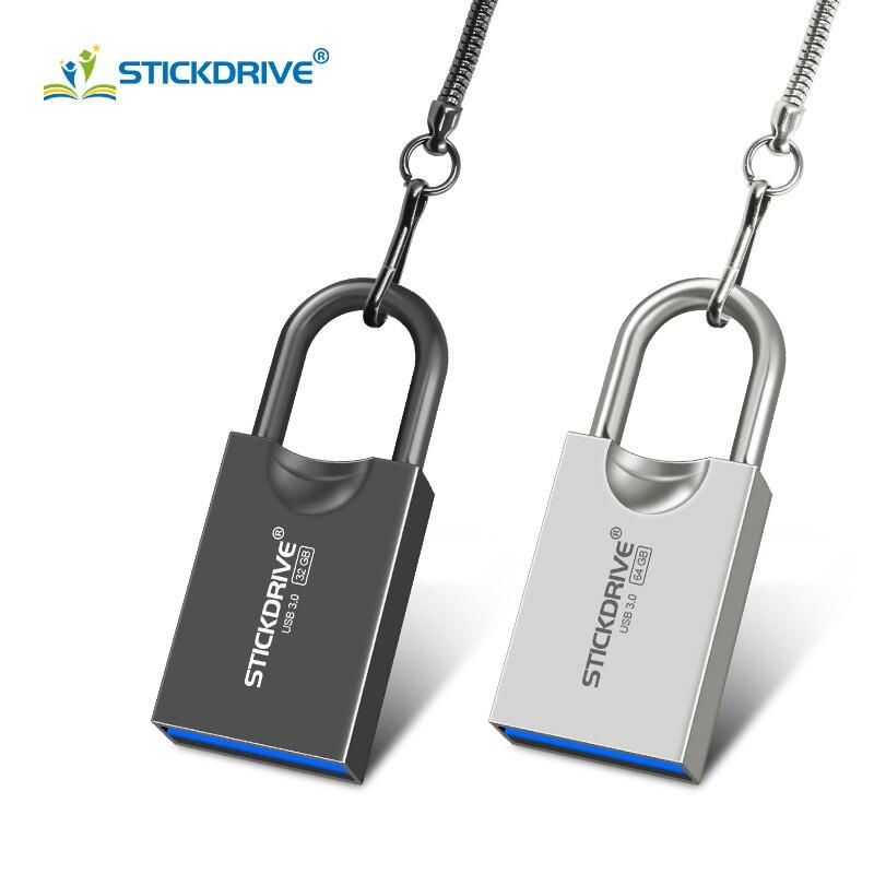 Fashion new usb 3 0 pendrive memory stick 128GB 64GB pen font b drive b font