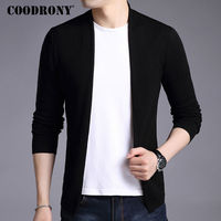 COODRONY Cardigan Men Cashmere Wool Sweater Men Brand Clothing Autumn Winter Warm Mens Knitted Sweaters Christmas