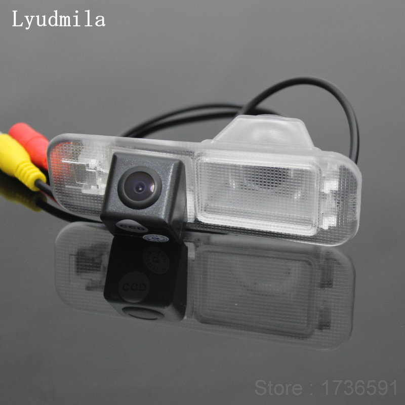For Kia Rio 3 UB Sedan Rio 2 JB 2009~2016 K2 Sedan Car Reversing Back Up Reverse Parking Rear View Camera / HD CCD Night Vision
