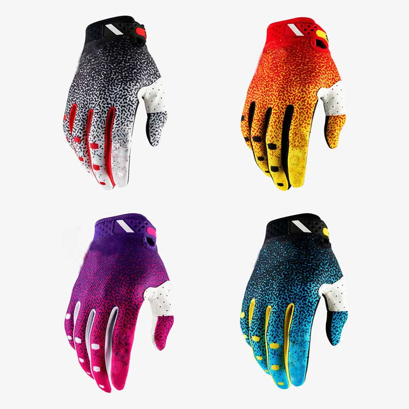 Cycling Gloves Full Finger Sport Shockproof MTB Bike Motorcycle Racing Gloves Man Woman Bicycle Sponge Long Finger Gloves Winter