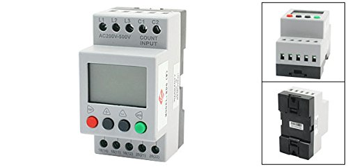 VJ5 LCD Display Phase Failure Sequence Unbalance Protective Relay 3 Phase And Voltage Relay