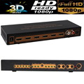 4 К HDMI Splitter 2X4 Switcher переключатель 14 В с SPDIF/L/R audio extractor out 3D & полный HD1080P