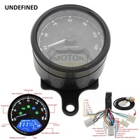 UNDEFINED Universal New Digital Speedometer Odometer Backlight Speed Meter With LED Indicator DC 12V for Most Motorcycle DDD51