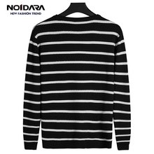 No.1 dara Men Clothes 2018 O-Neck Striped Slim Fit Knitting Men Sweater sueter hombre Casual Tops Sweater Men Agasalho Masculino dara o briain edinburgh