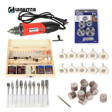 LANXSTAR Big Power 7500WS Professional Electric Die Grinder 0.6~6.5mm Chuck 6 Variable Speed Rotary Tool Multifunction Drill