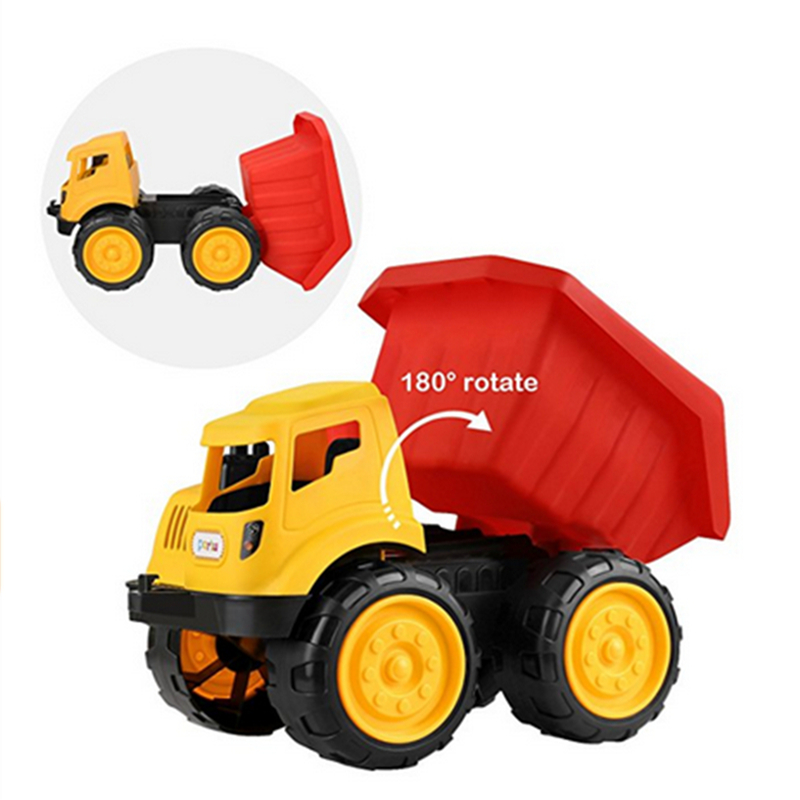 Hot Sale 2017 Beach Car 3 Style Truck Model Toy Toddler Toys Bulldozer Car Dump Truck Excavator Educational Toys for Kids