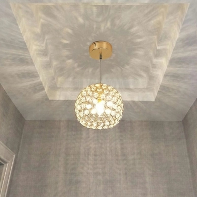 Modern minimalist single head chandelier corridor creative bar balcony porch entrance American Crystal Restaurant lights z best price minimalist restaurant bar chandelier single head lamp creative balcony flower pot lamp hanging garden lightings