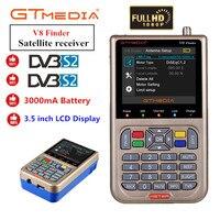 Freesat V8 Finder HD DVB S2 1080P Digital Satellite Finder ความละเอียดสูง SAT Finder DVB S2 Satellite เมตร Satfinder GTMEDIA V-ใน เครื่องรับสัญญาณของโทรทัศน์ผ่านดาวเทียม จาก อุปกรณ์อิเล็กทรอนิกส์ บน