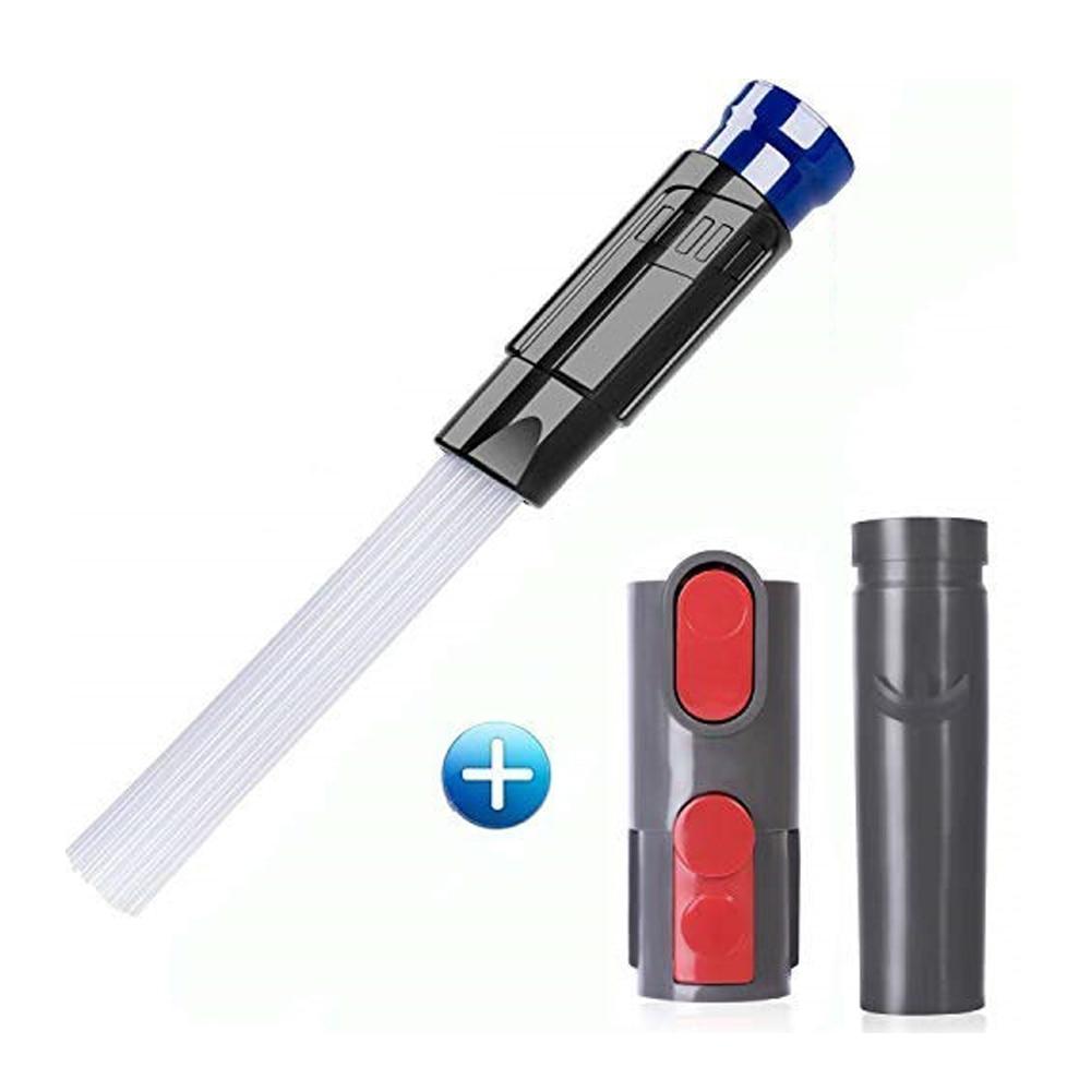Reinigung Werkzeug Befestigung Pinsel Adapter Set für Dyson V8 V10 V6 DC35 DC61 DC62 Staubsauger Staub Papa Multi- funktionale Werkzeug