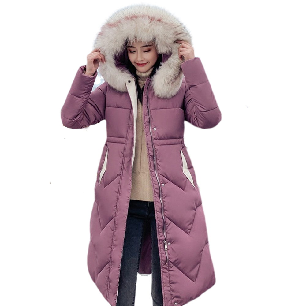 down   parka   down jacket women down jacket medium length knee length jacket and thick jacket 922