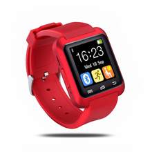 U80 Bluetooth Smart Watch Phone Digitale Sport Armbanduhr Anti-verlorene Smartwatches für IOS Android Telefon PK U8 DZ09 Kleinpaket
