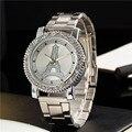 2017 New Arrived Luxury Ybotti Quartz Women Watch  Rhinestones Stainless Steel Watches Relogio Feminino Ladies Clock Hot Sale