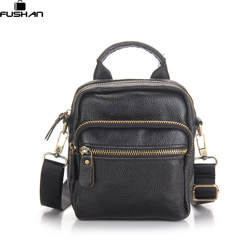 high quality leather men messenger bag first layer cow leather shoulder bags casual men handbag crossbody small men bags black casual canvas women men satchel shoulder bags high quality crossbody messenger bags men military travel bag business leisure bag