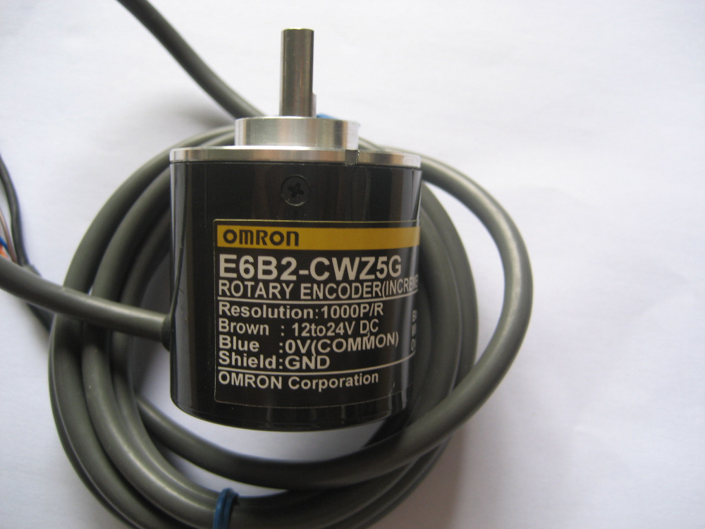 Freeshipping Incremental Rotary Encoder E6B2-CWZ5G 1000P/R, 3-Phase Encoder E6B2CWZ5G 1000P/R NEW E6B2CWZ5G 1000P/R 12 to 24V DC free shipping e6a2 cs5c 60p r rotary encoder new e6a2cs5c 60p r inc 12 24vdc open a phase e6a2 cs5c 60p r