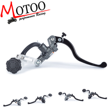 Motoo -Free shipping  Motorcycle 19X18 16X18  Adelin brake clutch pump master cylinder lever handle for Yamaha джеггинсы adelin fostayn