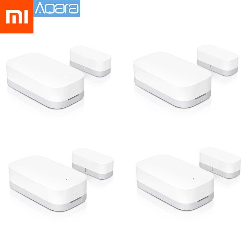 Original Xiaomi Aqara Door Window Sensor Zigbee Wireless Connection Smart Mini door sensor Work With Mi