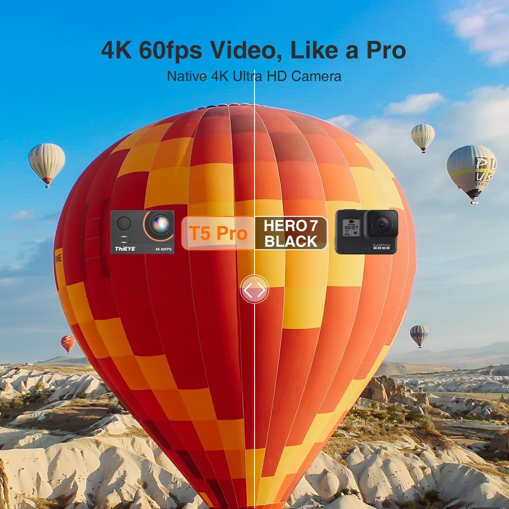 ThiEYE T5 Pro Real Ultra HD 4K 60fps 5