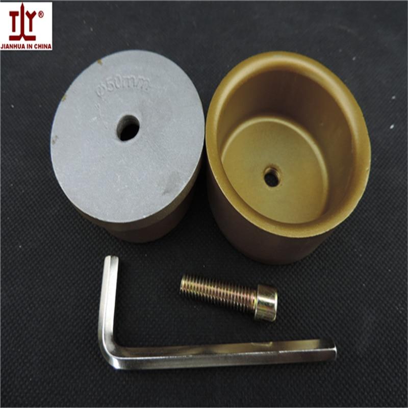 Free Shipping Golden Color DN 50mm PPR Welding Machine Parts,PPR,PE,PB Pipe Butt Welding Die Head, Welding Molds