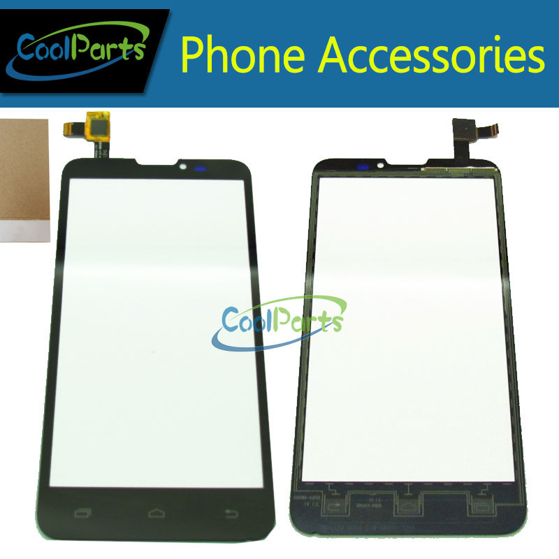 1PC/Lot High Quality For Prestigio MultiPhone 5300 Duo PAP 5300 PAP5300 Touch Screen Digitizer With Tape Black Color