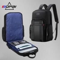 BOPAI mochila hombre новый для мужчин рюкзак для 15,6 дюйм(ов) ноутбук большой ёмкость студент рюкзак повседневный деловой back pack