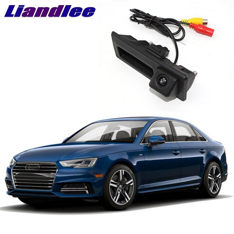 LiandLee багажнике автомобиля ручка заднего вида парковочная камера для Audi A4/S4/RS4 B8 8 К 2009 ~ 2016